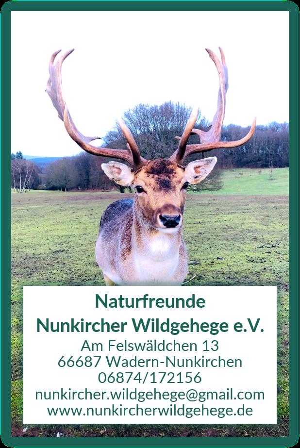 Logo Naturfreunde Nunkircher Wildgehege e.V.